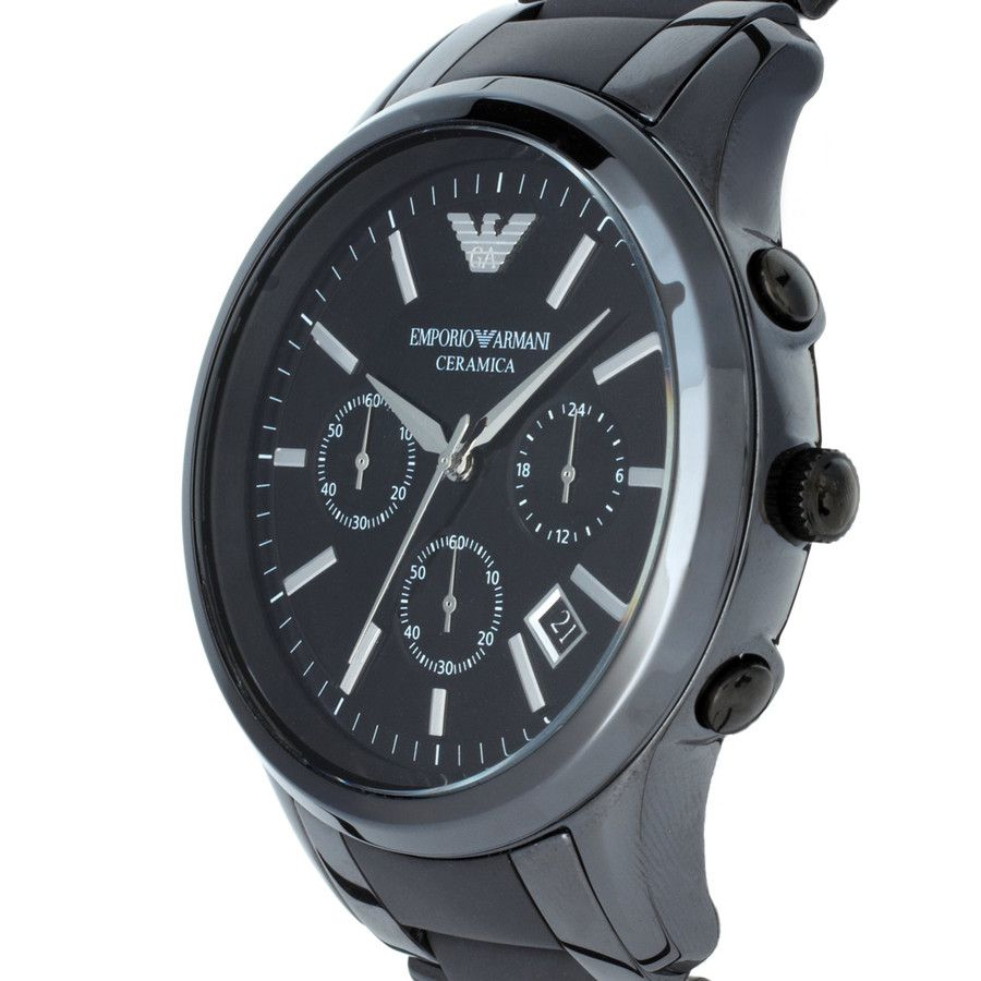 Emporio Armani Ceramica Chronograph Gents Watch Ar1452
